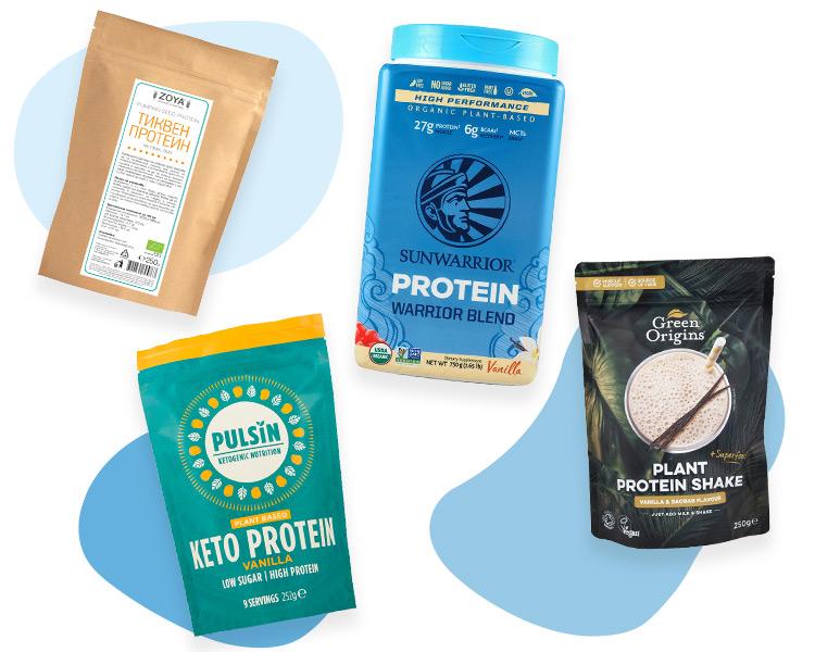 Растителни протеини