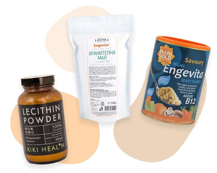 Лецитин и мая