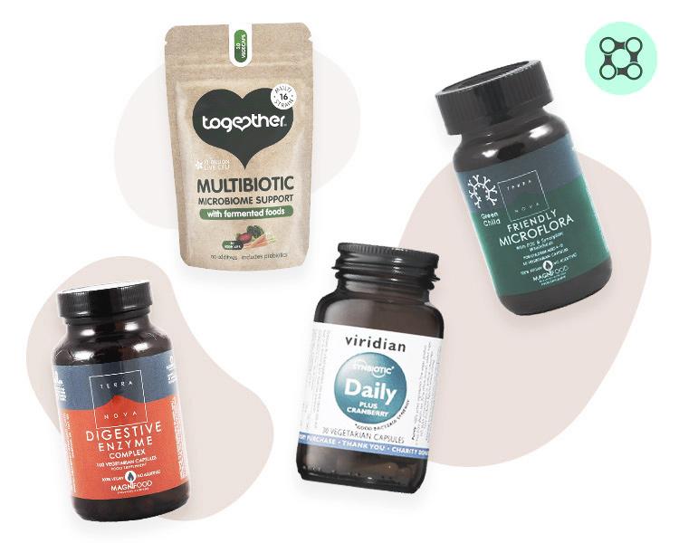 Probiotics, Synbiotics & Enzymes