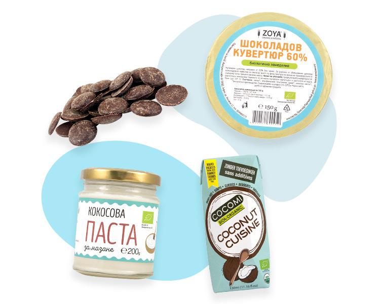 Какаови и кокосови продукти