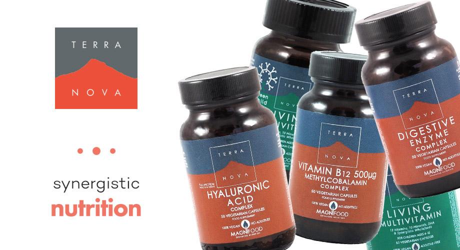 Terra Nova - Terra Nova - хранителни добавки, обогатени с комплекс Magnifood. Без пълнители и свързващи вещества.