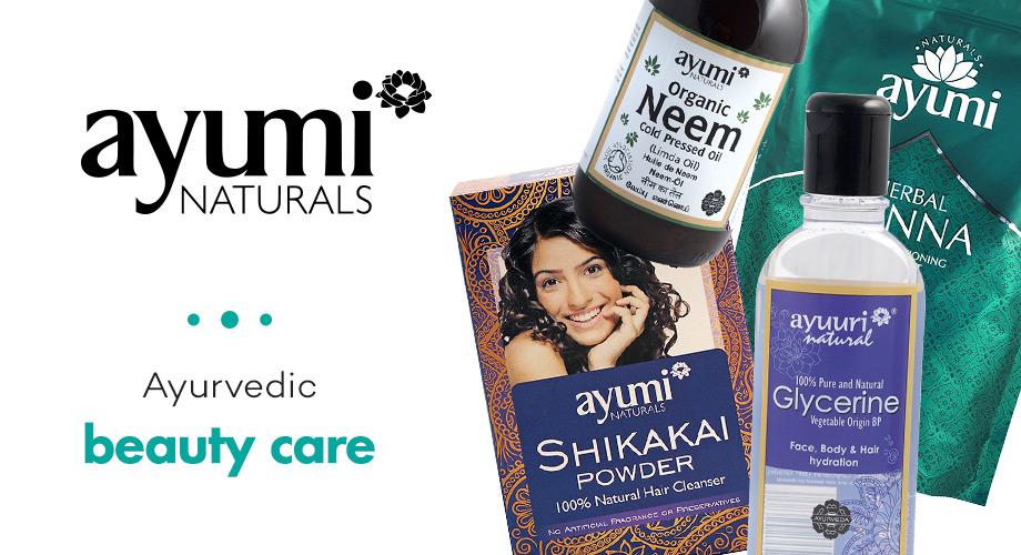 Ayumi - Билки и натурална боя за коса от Индия