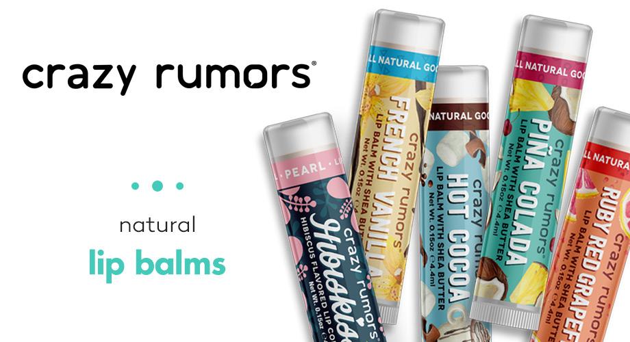 Crazy rumors - Балсами за устни