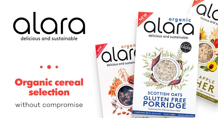 Alara - Био мюсли и безглутенова закуска, мюсли с годжи бери и плодове