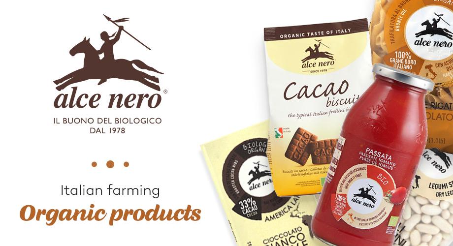 Alce Nero - Био храни от Италия