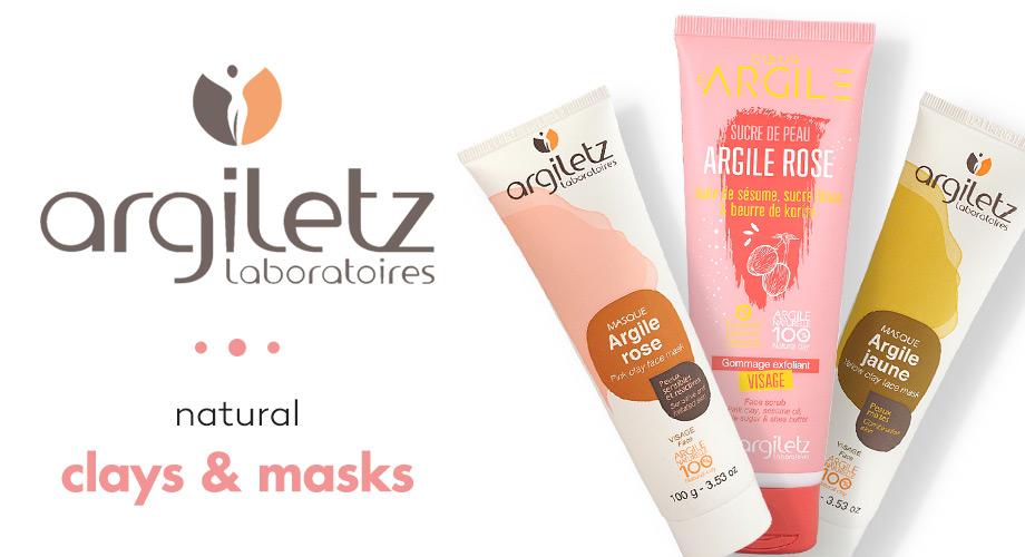 Argiletz - Почистване на лице със зелена глина, бяла глина и розова глина от Argiletz
