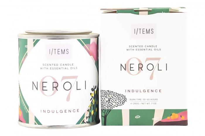 Scented Candle - Neroli, I/TEMS,  1 pcs