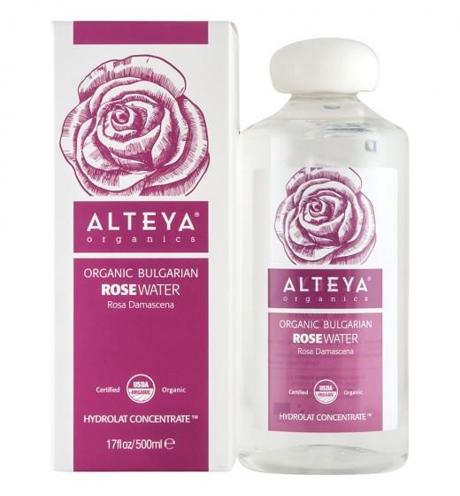 Био розова вода - 500 мл, Alteya Organics,  500 мл