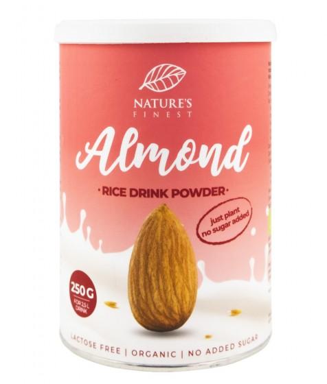 Оризова суха напитка с бадеми - био - 250 г, Nutrisslim,  250 г