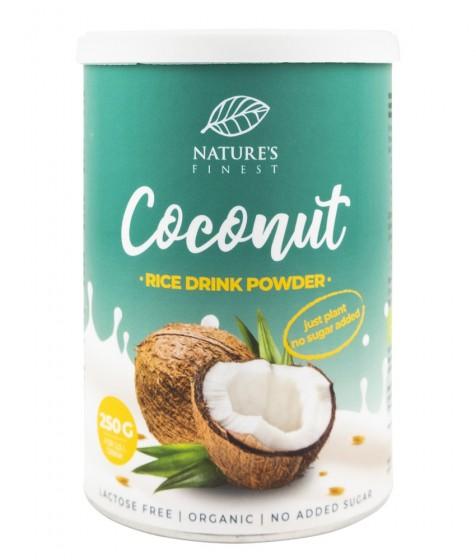 Оризова суха напитка с кокос - био - 250 г, Nutrisslim,  250 г