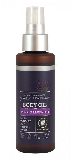 Масло за тяло Purple Lavender - био - 100 мл, Urtekram,  100 мл
