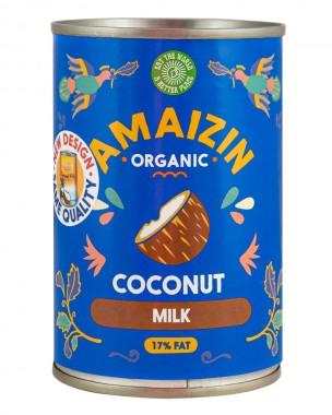 Кокосово мляко без сгъстител - био - 400 мл