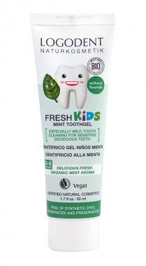 Детска паста за зъби Мента