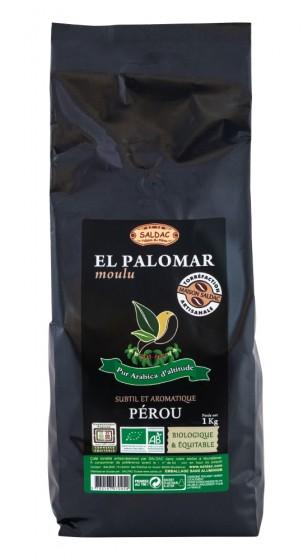 Био смляно кафе Арабика - 1 кг, Saldac,  1 кг