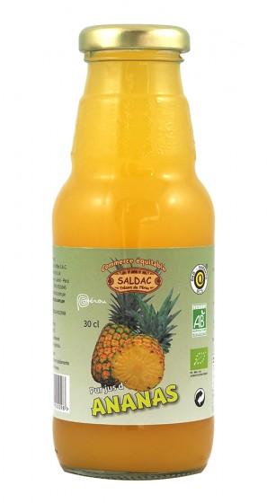 Сок от ананас - био - 300 мл, Saldac,  300 мл