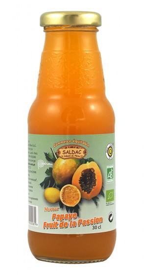 Нектар от папая и маракуя - био - 300 мл, Saldac,  300 мл