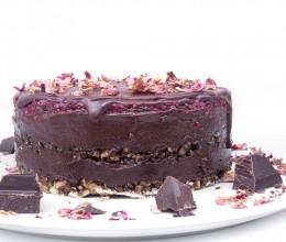 "Шоколадова торта ""Рози в шоколад"" - 8 / 12 парчета, Сладкарски цех Зоя,  8 бр,  12 бр"