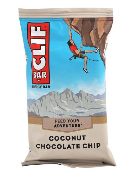 Енергиен десерт Clif Bar - кокос и шоколадови парченца - 68 г, Clif Bar,  68 г