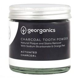 """Натурална пудра за зъби """"Активен въглен"""" - 60 / 120 мл, Georganics,  60 мл,  120 мл"""
