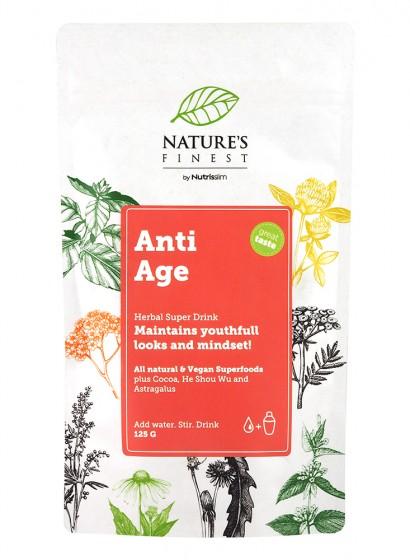 "Хранителна добавка на прах ""Anti-age"" - 125 г, Nutrisslim,  125 г"