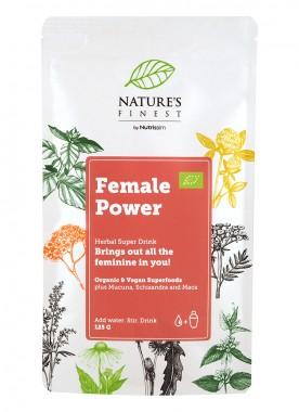 """Хранителна добавка на прах """"Female Power"""" - био - 125 г"""