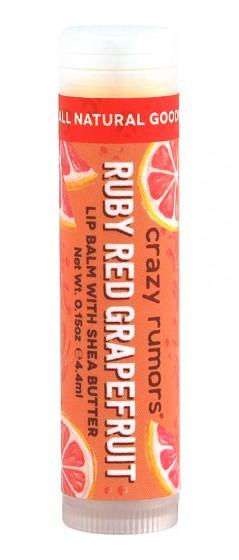 "Балсам за устни с грейпфрут ""Ruby Red Grapefruit"" , Crazy rumors,   г"