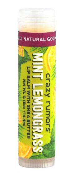 """Балсам за устни с екзотичен аромат """"Mint Lemongrass"""", Crazy rumors,   г"""