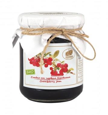 Сладко от червени боровинки - био - 240 г