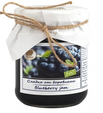 Сладко от боровинки - био - 240 г