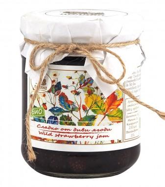 Сладко от диви ягоди - био - 240 г