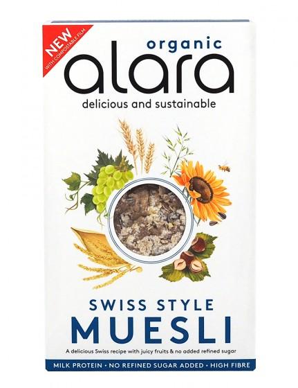 Швейцарско мюсли - био - 450 г, Alara,  450 г