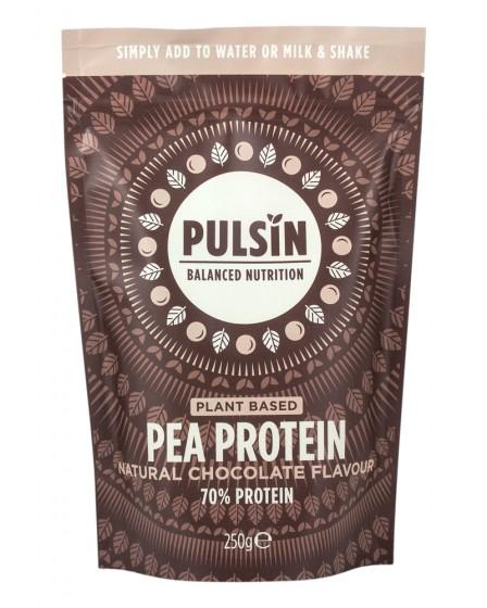 "Грахов протеин ""Шоколад"" 250 г, Pulsin,  250 г"