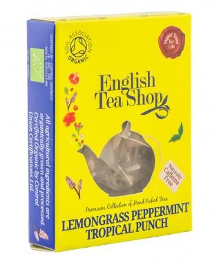 Органичен чай Тропически пунш - мента и лимонена трева - 2 г