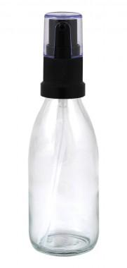 Стъклено шишенце с помпа 50 мл