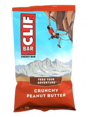 Енергиен десерт Clif Bar - хрупкаво фъстъчено масло - 68 г