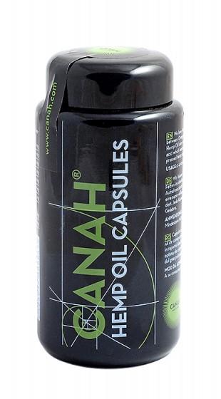 Конопено масло в растителни капсули - 84 бр, Canah,  84 бр