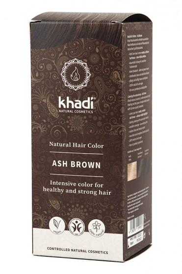 Билкова боя за коса - пепелно кестеняво, Khadi,  1 бр