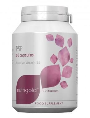 Витамин B6 P5P (Пиридоксал-5-фосфат) - 60 капсули