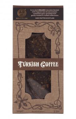 "Тъмен шоколад ""Турско кафе"" - био - 100 г"