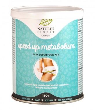 Хранителна добавка на прах Speed up Metabolism - 130 г