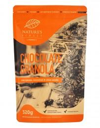 Шоколадова гранола - био - 320 г, Nutrisslim,  320 г
