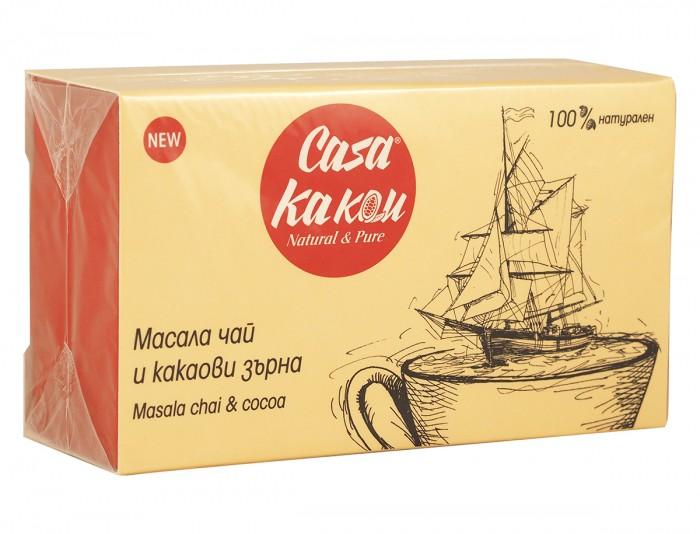 Масала чай с какаови зърна - 36 г, Casa Kakau,  12 бр