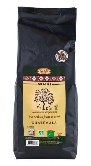 Кафе арабика на зърна Гватемала - био - 1 кг, Saldac,  1 кг