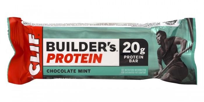 Протеинов бар Builder's - ментов шоколад - 68 г,  68 г