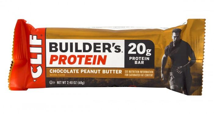 Протеинов бар Builder's - шоколад и фъстъчено масло - 68 г, Clif Bar,  68 г