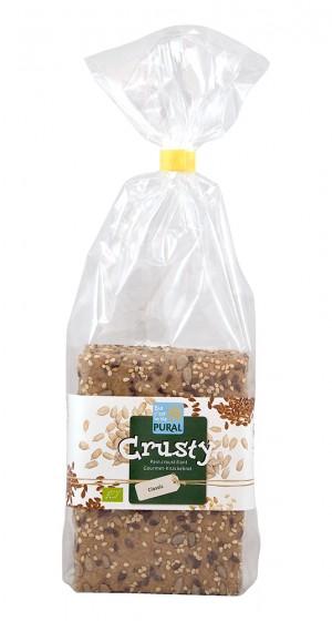 Пълнозърнести хлебчета със семена и зехтин - био - 200 г, Pural,  200 г