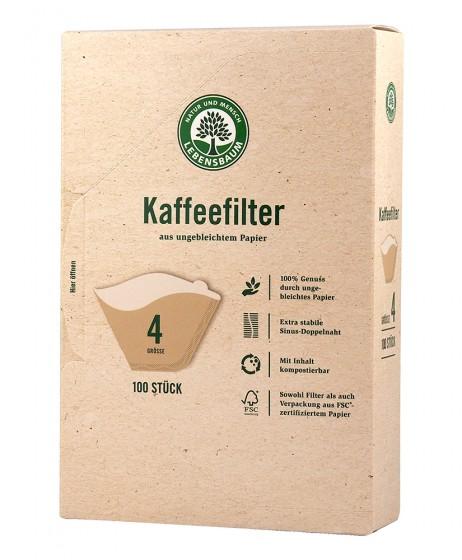 Филтри за кафе No.4 - 100 бр,  100 бр