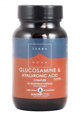 Комплекс с глюкозамин и хиалуронова киселина - 50 капсули