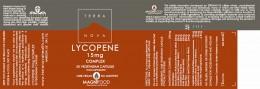 Lycopene 15mg complex, Terra Nova,  50 pcs