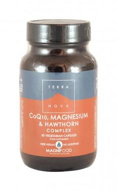 Комплекс с CoQ10, магнезий и глог - 50 капсули